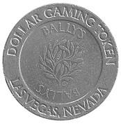 1 Dollar Gaming Token - Ballys (Las Vegas, Nevada) – obverse