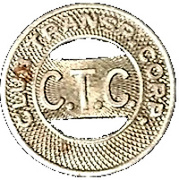 1 Fare - Club Transportation Corporation (Yonkers, New York) – obverse