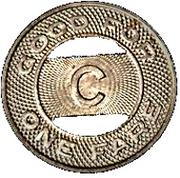 1 Fare - Club Transportation Corporation (Yonkers, New York) – reverse