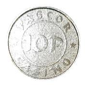 10 Pesos - PAGCOR Casino – reverse