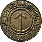 Token - Kansas City Area Transportation Authority – obverse