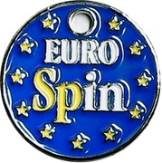 Shopping Cart Token - Euro Spin – obverse
