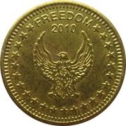 Token - No Cash Value (Eagle looking left;