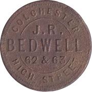 Farthing - John Robert Bedwell's (Colchester, Essex) – obverse