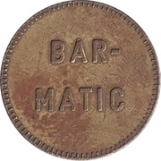 Token - Bar-Matic (with denticles) – reverse