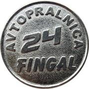 Car Wash Token - Fingal (Gornja Radgona) – reverse