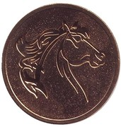 Token - Year of the Horse – obverse