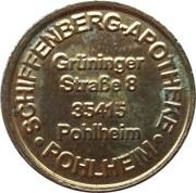 Schiffenberg Taler - Schiffenberg Apotheke (Pohlheim) – obverse