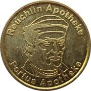 Pforzheim Taler - Reuchlin Apotheke & Portus Apotheke – obverse