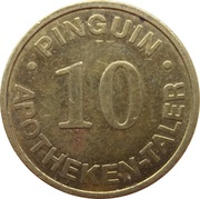 10 Apotheken Taler - Pinguin Apotheke (Lübeck) – reverse