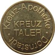 Kreuz Taler - Kreuz Apotheke (Dornstadt) – obverse
