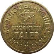 Bookholter Taler - Bookholter Apotheke (Nordhorn) – obverse
