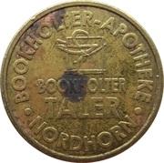 Bookholter Taler - Bookholter Apotheke (Nordhorn) – reverse