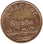 Car Wash Token - Allacher (München) – reverse