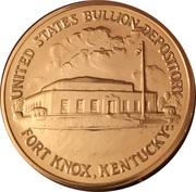 Token - United States Bullion Depository, Fort Knox Kentucky – obverse