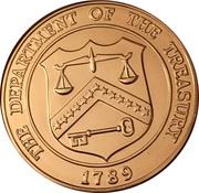 Token - United States Bullion Depository, Fort Knox Kentucky – reverse