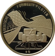 Token - Deutsche Formel 1 Piloten (Hans Heyer) – reverse