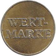 Token - Delikomat Wert-Marke – reverse