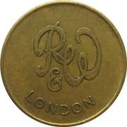 Token - R&W London (21 mm) – obverse