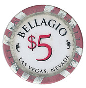 5 Dollars - Bellagio (Las Vegas, Nevada) – obverse