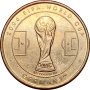 Token - 2006 FIFA World Cup (France) – reverse