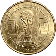 Token - 2006 FIFA World Cup (Croatia) – reverse