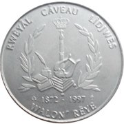 2 Çans - Royal caveau Liège – obverse