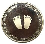 Token - Birth baby (Footprints; Spanish) – obverse