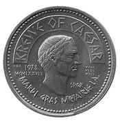 Mardi Gras Token - Krewe of Ceasar (Metairie, Louisiana) – reverse