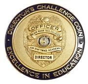 Token - BRTC Law Enforcement Training Academy (Arkansas) – reverse
