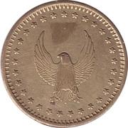 Token - No Cash Value (Eagle looking left, on both sides) – obverse