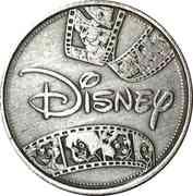 Token - Disney (Beauty and the beast) – reverse