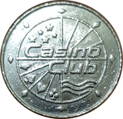 Token - Casino Club (24 mm) – reverse