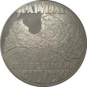 Token - Latvijas ievērojamākie cilvēki. Kārlis Ulmanis – reverse