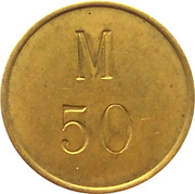 Token - C.C. Sporrong & Co. (M 50) – reverse