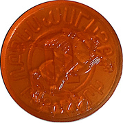 Metro Token - Yerevan (Orange transparen) – obverse