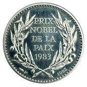 Token - Prix Nobel de la Paix (Lech Walesa) – reverse