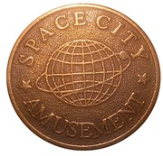 Amusement Token - Space City – obverse