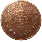 Amusement Token - Space City – reverse