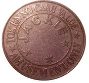 Amusement Token - Jackie Fun World – reverse