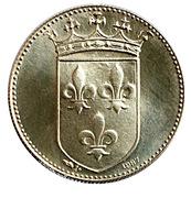 Token - Roi de France (François I) – reverse