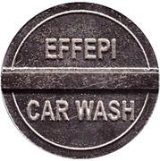 Car Wash Token - Effepi (Castronno) – reverse