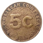 5 Cents - Coin Scan – obverse