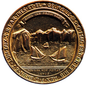 Replica - Great Seal of the Island of Cape Breton – obverse