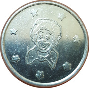 Token (Clown) – obverse