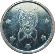 Token (Clown) – reverse