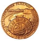 Token - Mississippi River Parkway Foundation – obverse