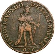 Token - Louis XIV (Parlement de Dijon) – obverse