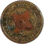 Token - Uzina Ribeirão (№ 100) – reverse