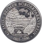 Token - 125 Jahre Bremer Bürgerparkverein – obverse